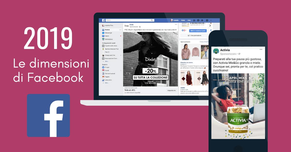 Tutte Le Dimensioni Delle Immagini Facebook 2019 Isabella Polo